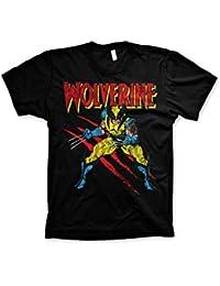 Wolverine Scratches 3XL,4XL,5XL Men/'s T-Shirt Officially Licensed Marvel Comics