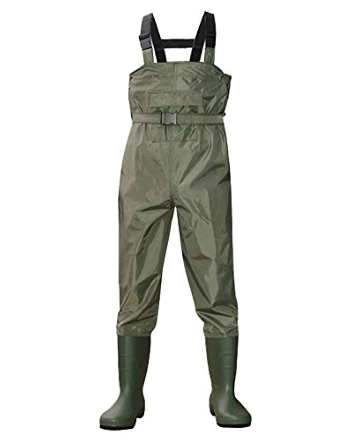 nachvornナイロンアーミーグリーンBootfoot胸釣りハンティングWaders
