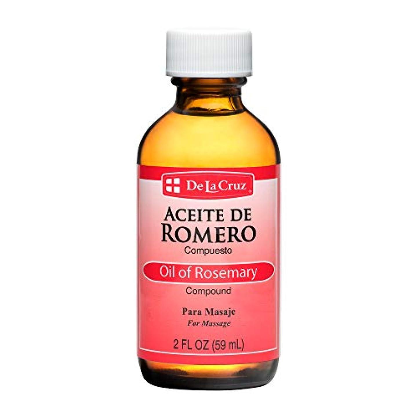 補助金笑慢性的De La Cruz Aceiteデ?ロメロローズマリー油、2オンス