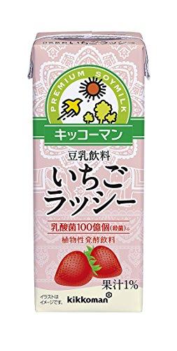キッコーマン 豆乳飲料 いちごラッシー 200ml×18本