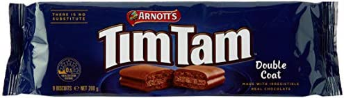 Arnott's Tim Tam Double Coat Biscuits, 200 Grams