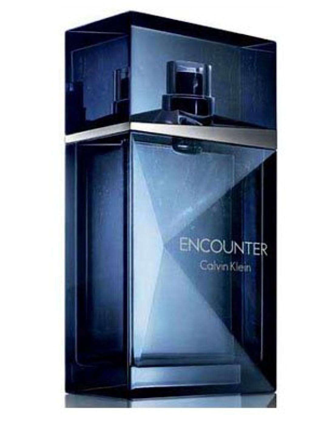 マニュアル本部つらいEncounter (エンカウンター)3.4 oz (100ml) EDT Spray by Calvin Klein for Men