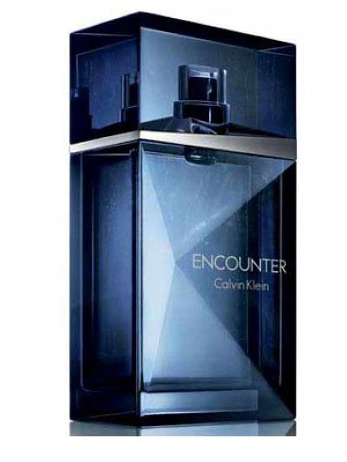 柔らかさシャワー失速Encounter (エンカウンター)3.4 oz (100ml) EDT Spray by Calvin Klein for Men
