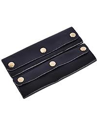 SAISAI (サイサイ) ハンドルカバー バッグ用 持ち手 2個セット 本革 牛革 革 レザー ZK-HCOVER-LE-001