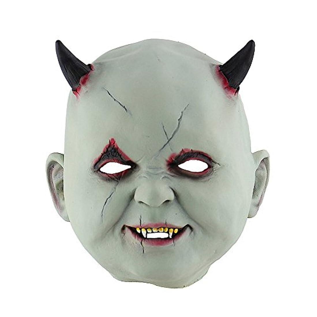 ドループ十一合わせてハロウィンマスクホラーゾンビお化け屋敷は小道具のヘッドギア悪魔ヴァンパイアマスクをドレスアップ