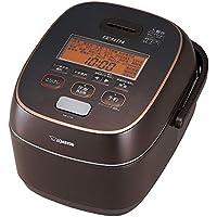 象印 炊飯器 圧力IH式 5.5合 極め炊き 鉄器コート豪熱羽釜 ブラウン NW-JT10-TA