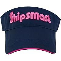 Shipsmast(シップスマスト) SV01-NV ロゴサンバイザー ネイビー