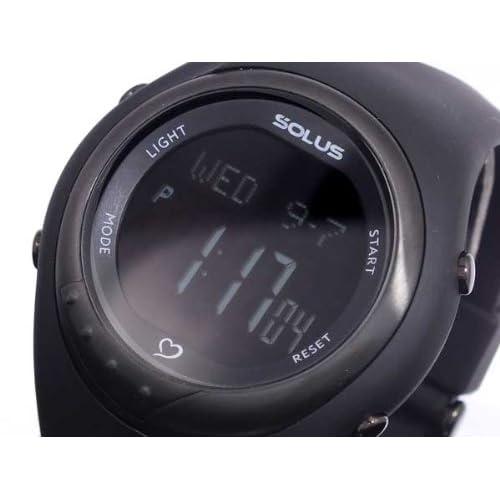 (ソーラス) SOLUS 心拍計測機能付き デジタル 腕時計 01-300-007 ユニセックス【国内正規品】
