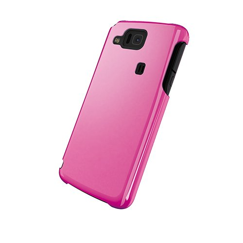 iBUFFALO au AQUOS Phone IS13SH 『キズに強い』3Hハードケース液晶保護フィルム付(ピンク) BSMPIS13SHHPK