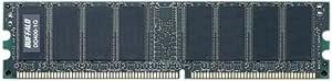 BUFFALO デスクトップ用増設メモリ PC3200(DDR400) 1GB MV-DD400-1G