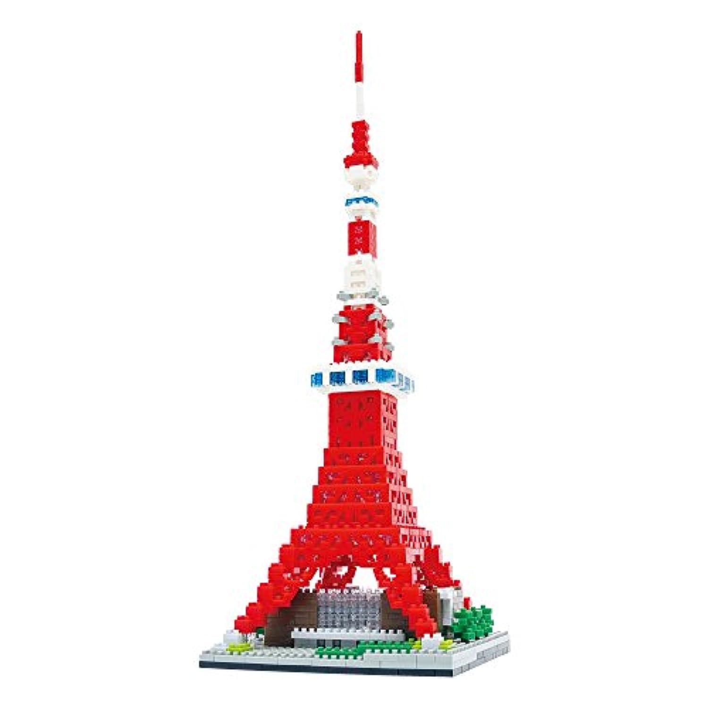 ナノブロック 東京タワー Deluxe Edition NB-018