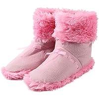 [スプレンノ] USB フット ウォーマー 保温 ブーツ PC 作業 足元 暖房 つま先まで暖かい (ピンク)