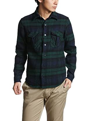CPO Shirt Jacket 38-11-0453-156: Black Watch