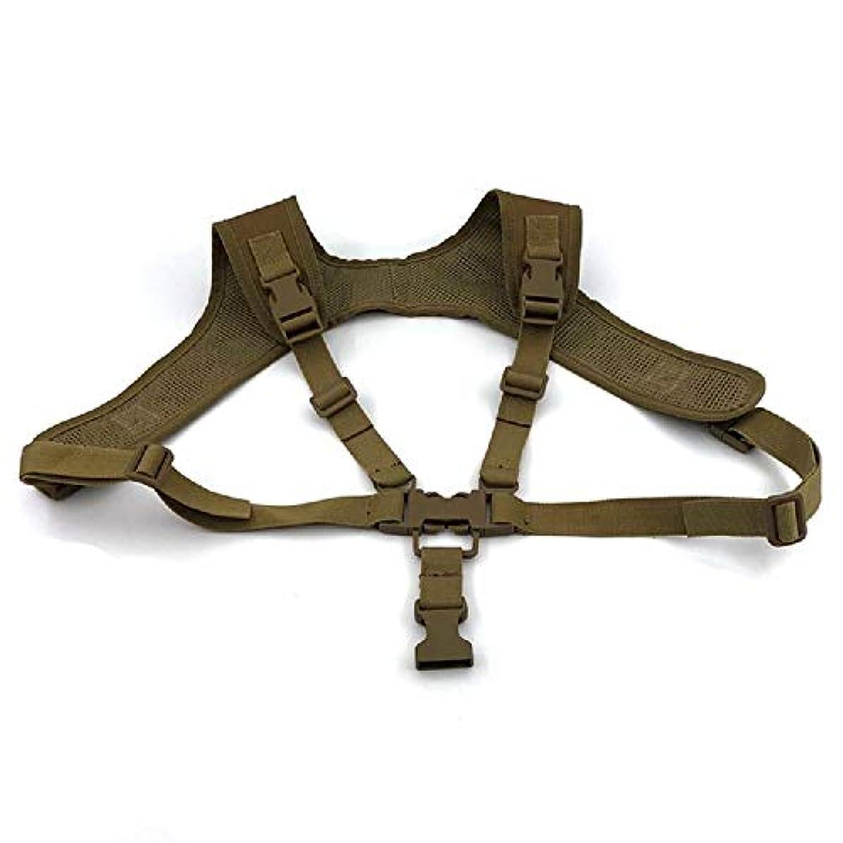 クラッシュ左精度屋外多機能戦術的なベストストラップ吊り銃ローププロスポーツ安全ロープ (Color : A)