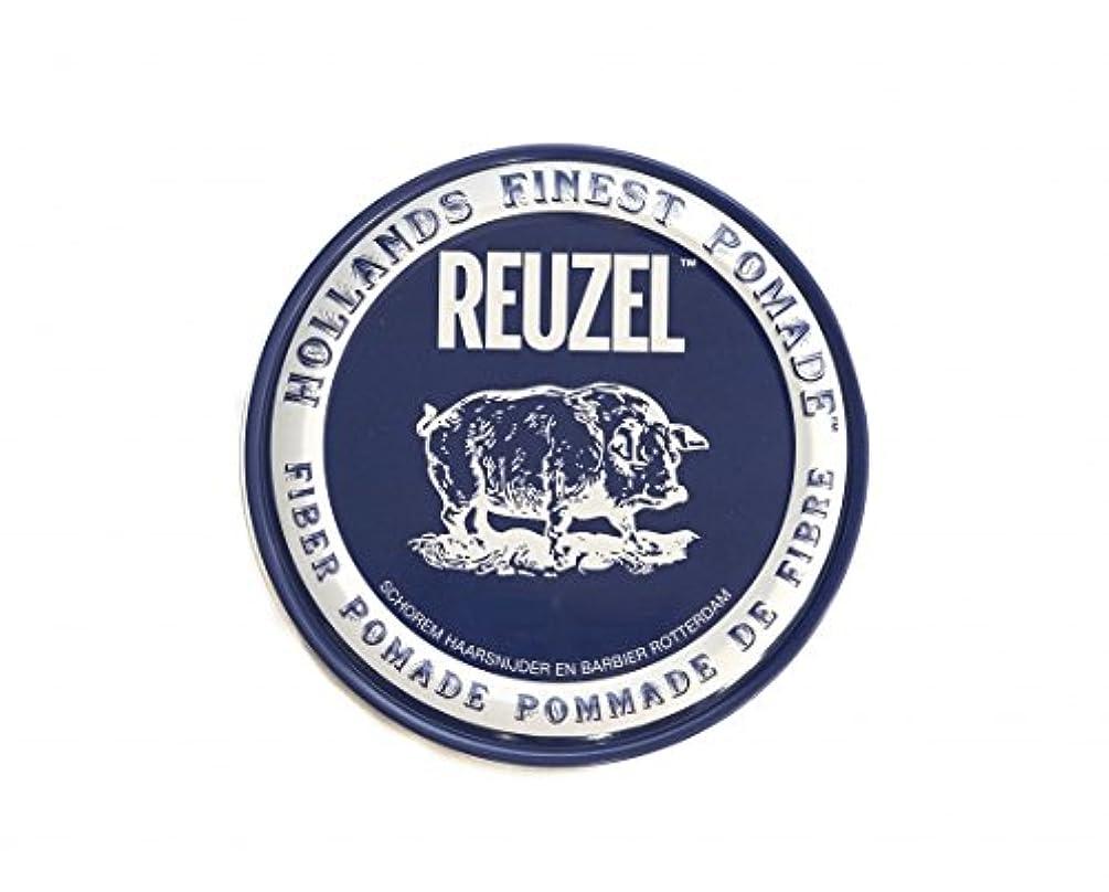 捨てるインレイあたたかいルーゾー REUZEL FIBER ファイバー ポマード ネイビー 340g