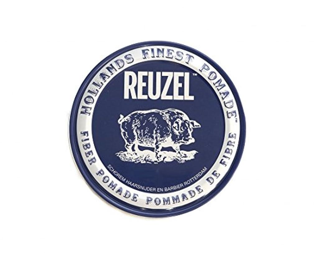 背景請求可能フォアタイプルーゾー REUZEL ファイバーポマード ネイビー 113g