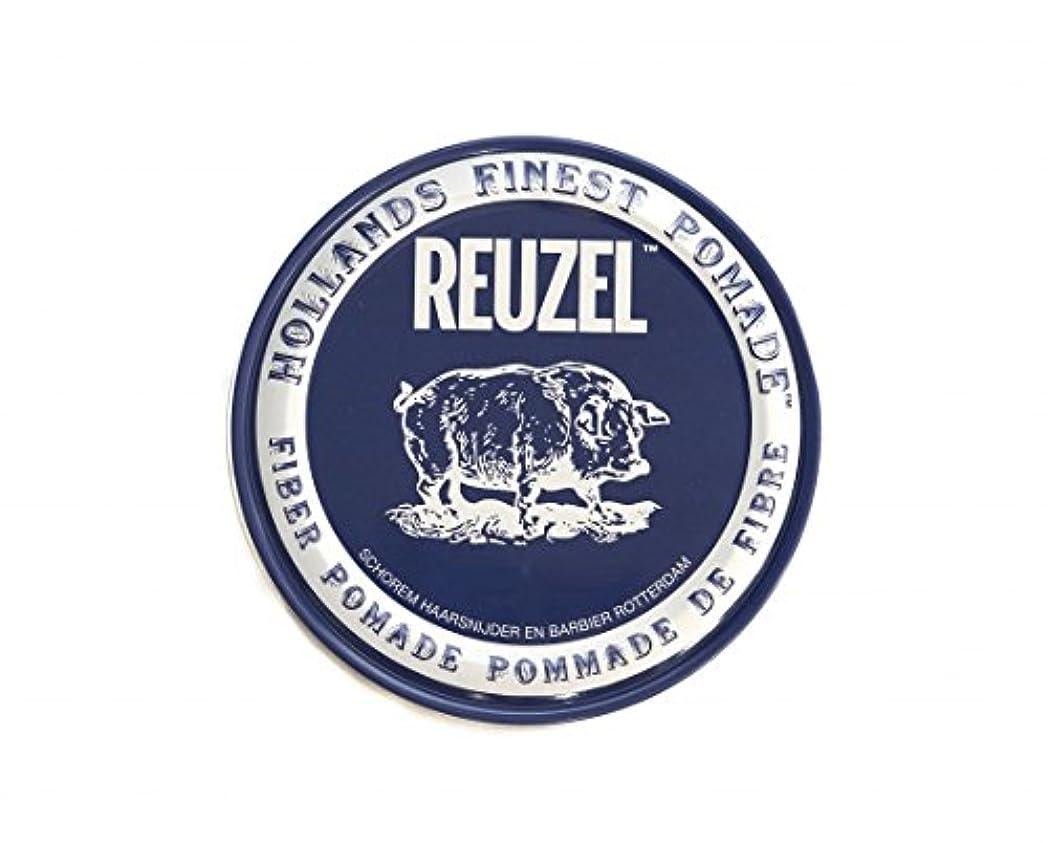 郵便屋さんスパイラルウミウシルーゾー REUZEL FIBER ファイバー ポマード ネイビー 340g
