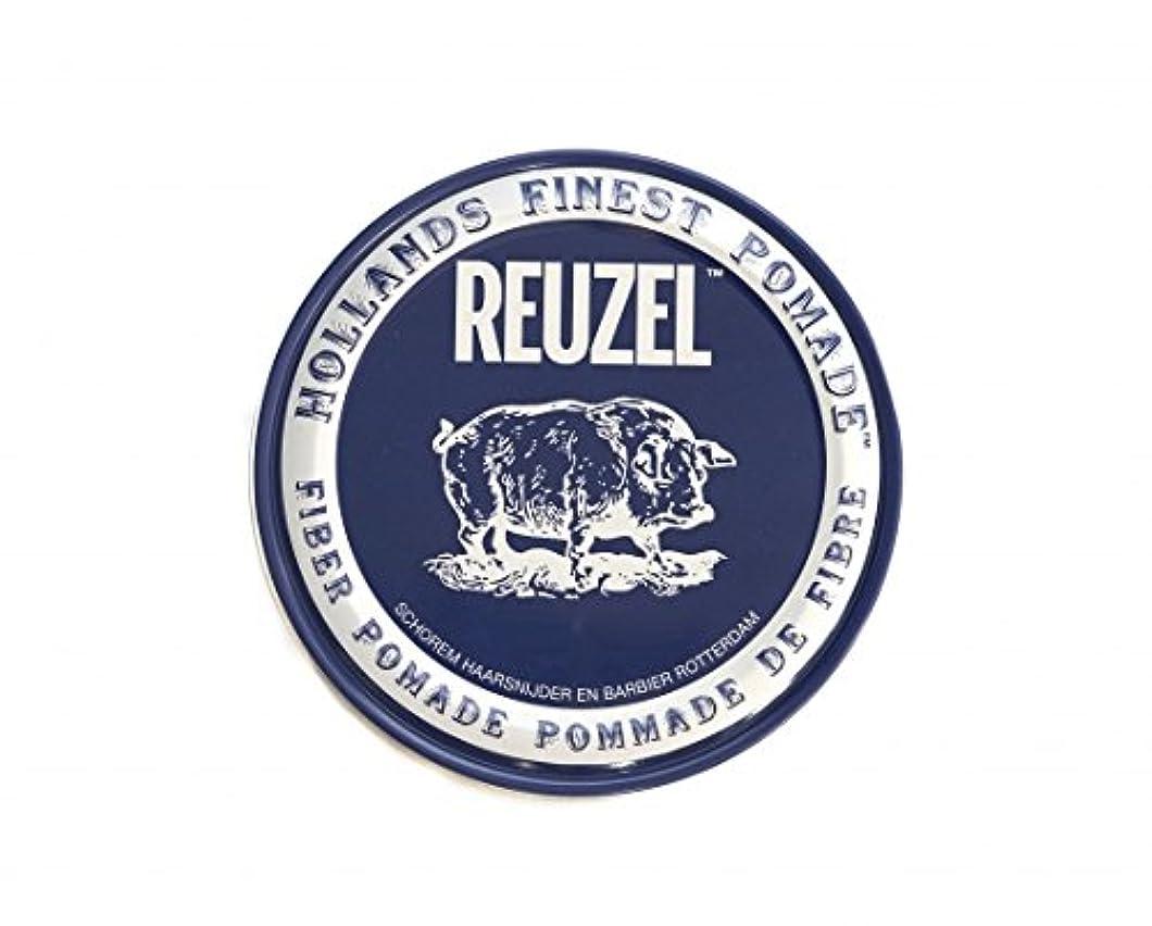 め言葉真似る自分の力ですべてをするルーゾー REUZEL ファイバーポマード ネイビー 113g