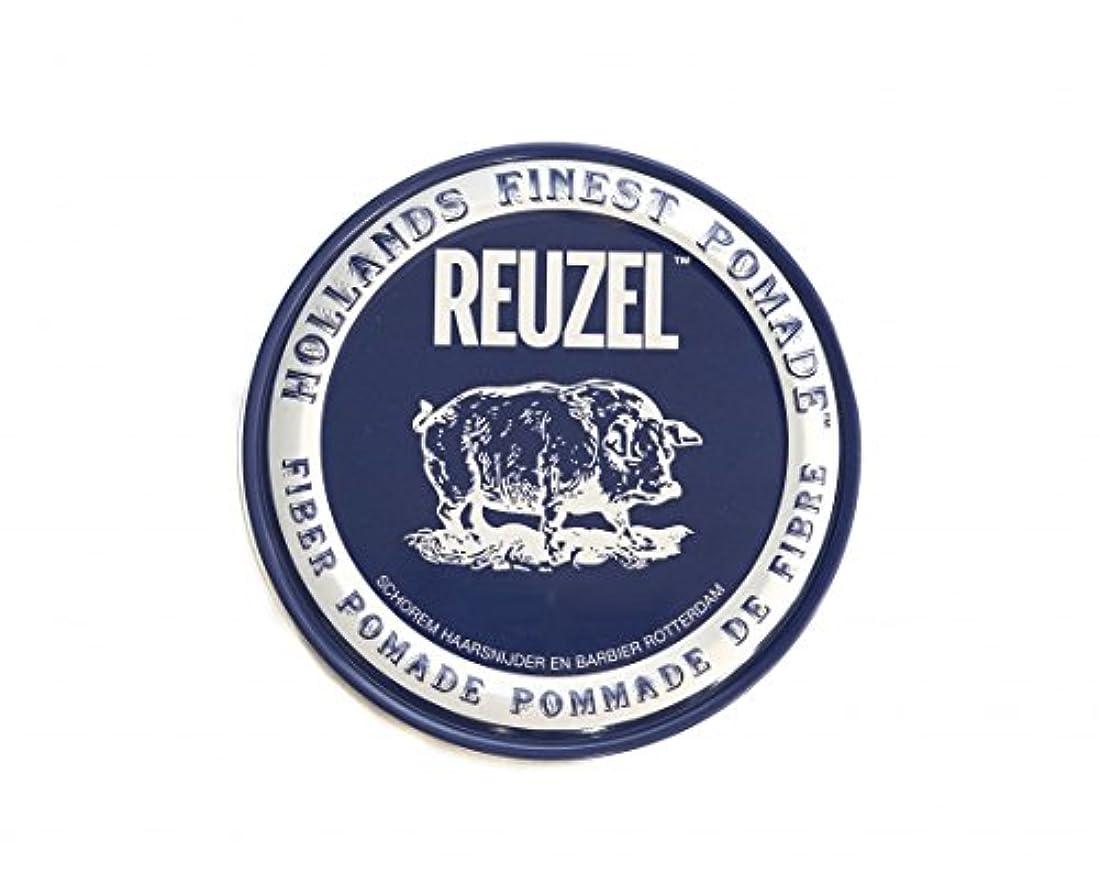 持つ摘む酸素ルーゾー REUZEL FIBER ファイバー ポマード ネイビー 340g