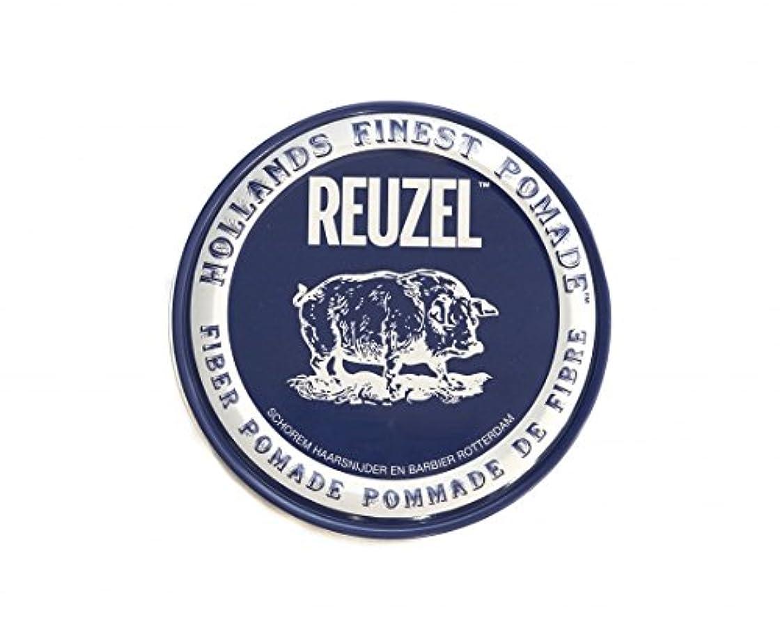 鳴り響く召集するしないルーゾー REUZEL FIBER ファイバー ポマード ネイビー 340g