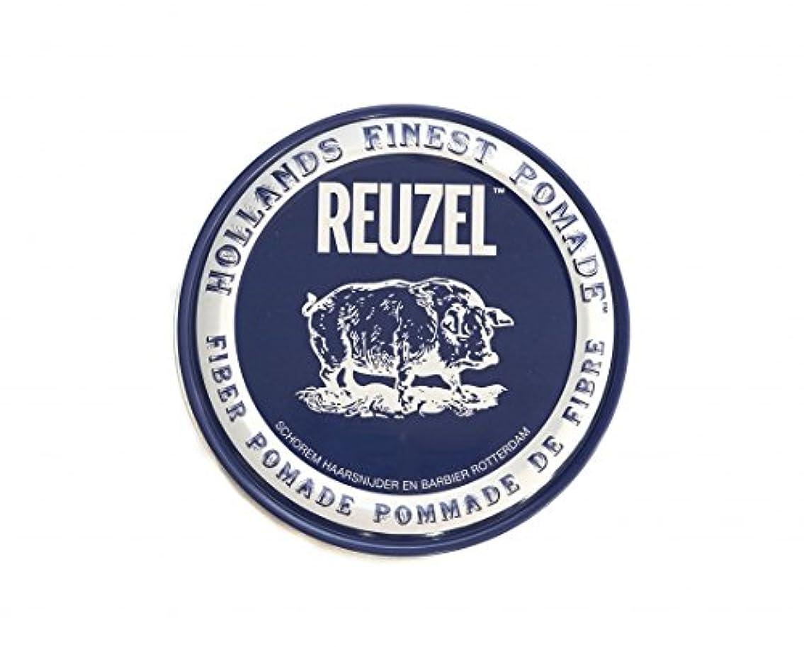 太字種類アイスクリームルーゾー REUZEL FIBER ファイバー ポマード ネイビー 340g
