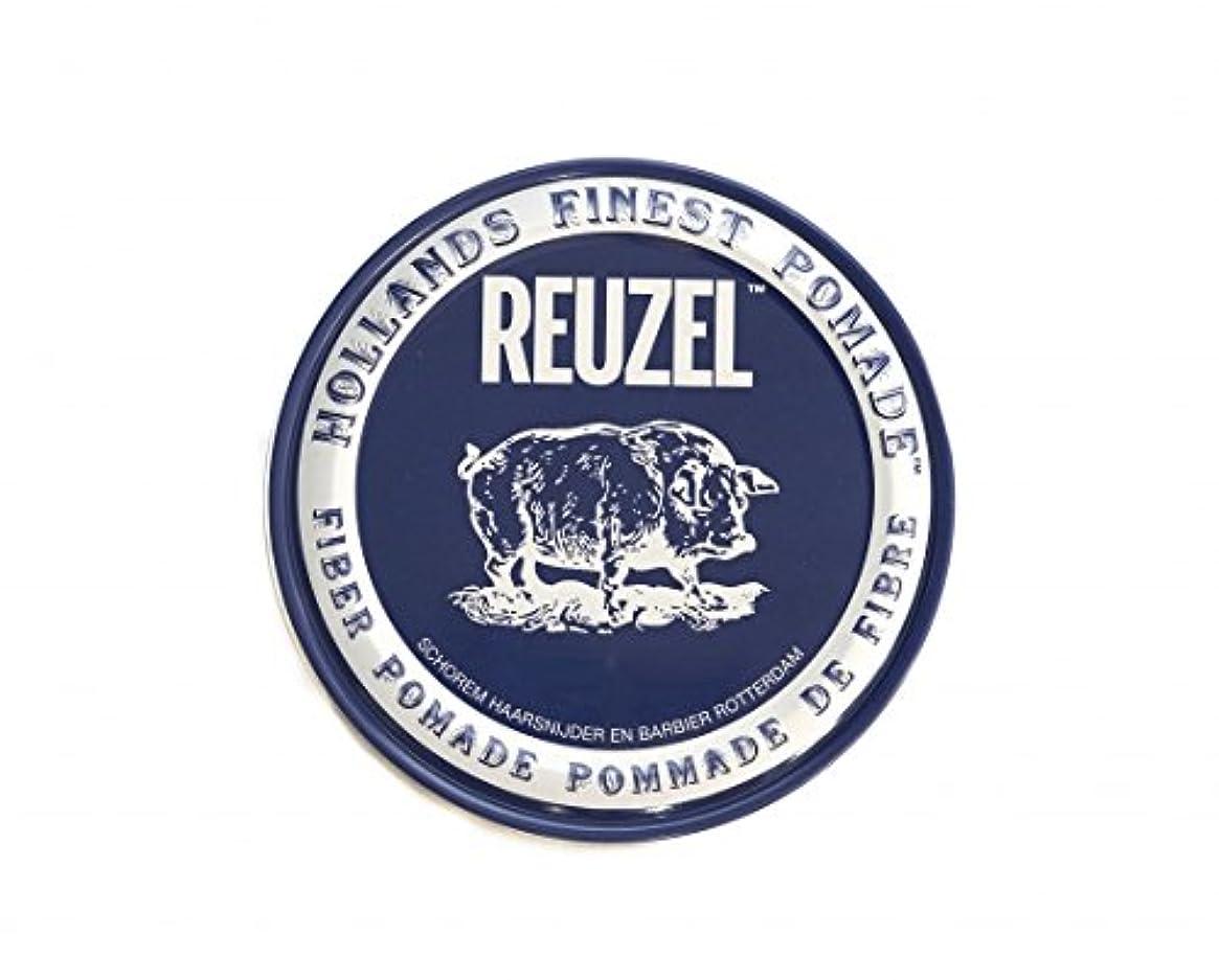 飢えた酸素成人期ルーゾー REUZEL FIBER ファイバー ポマード ネイビー 340g