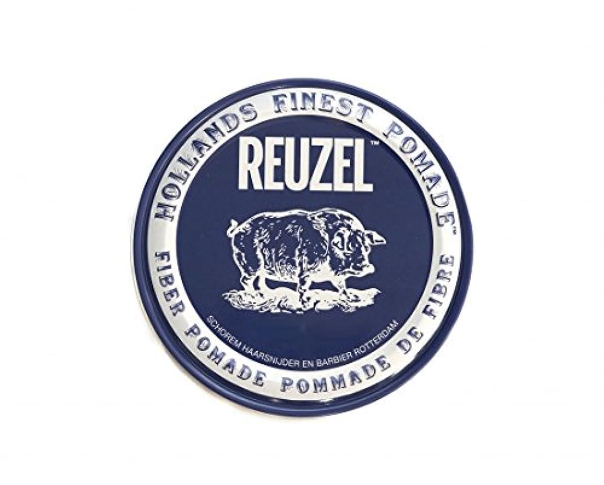 改善皮肉上院ルーゾー REUZEL ファイバーポマード ネイビー 113g