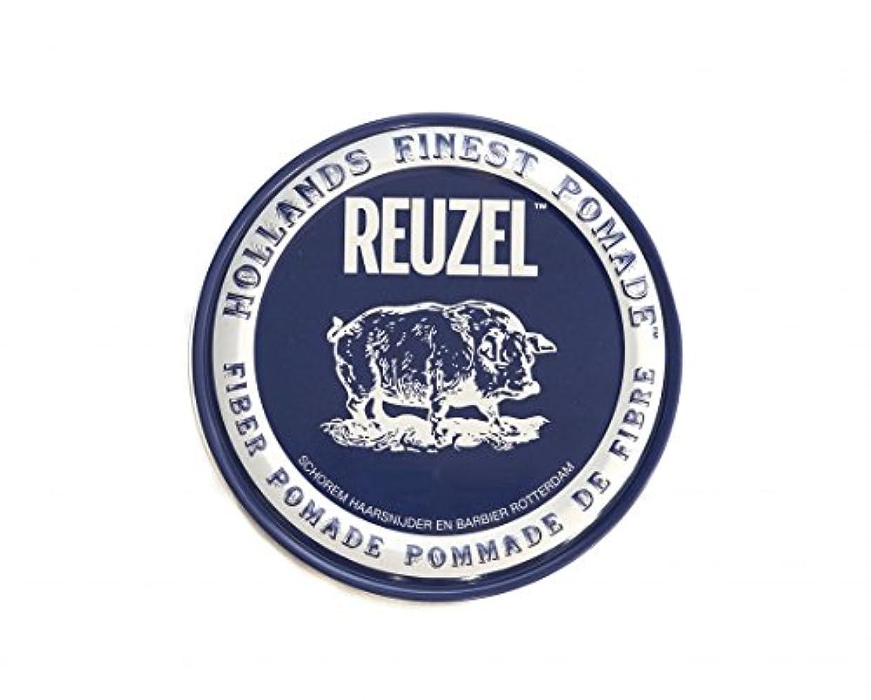 子孫スーツクラブルーゾー REUZEL ファイバーポマード ネイビー 113g