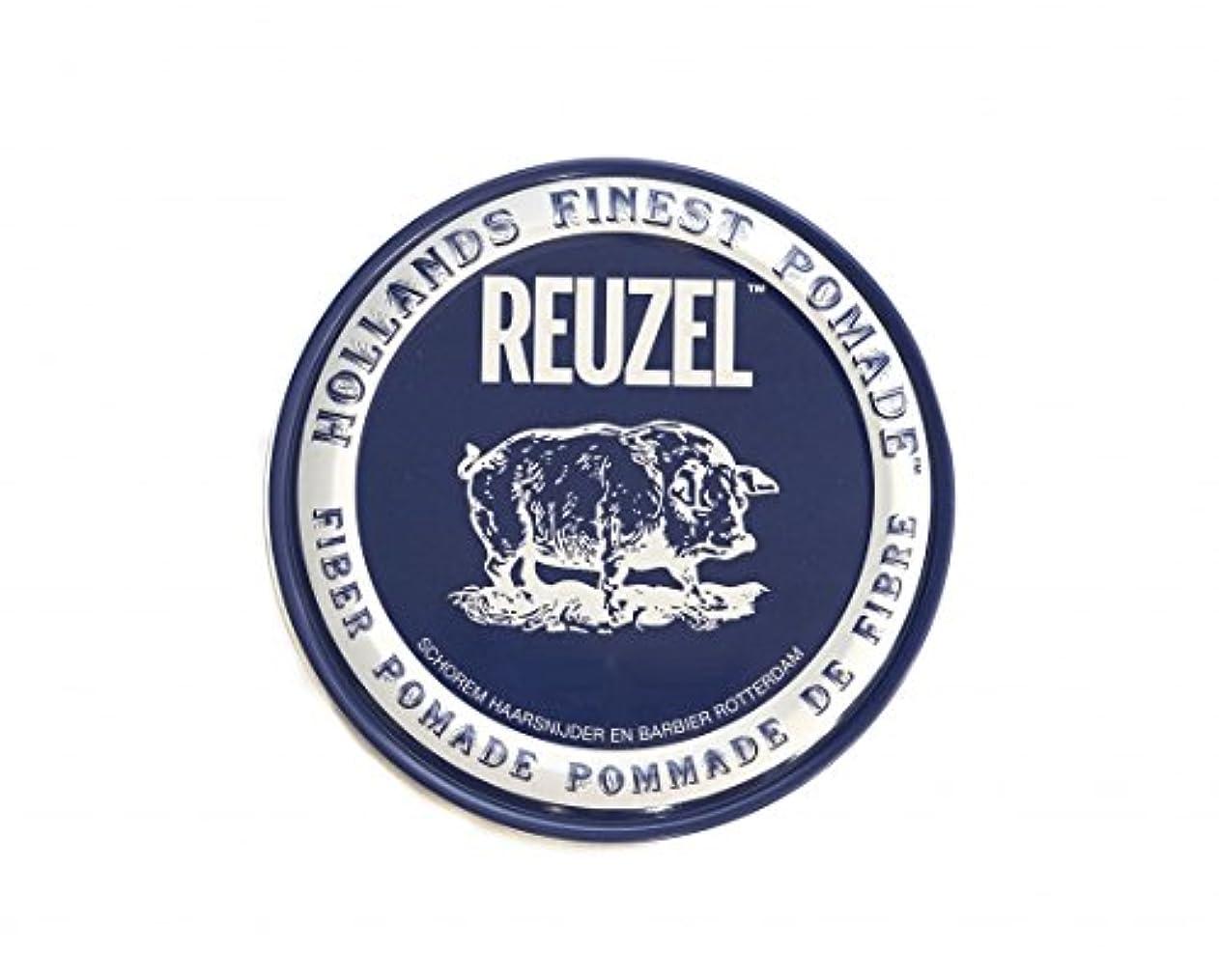 に変わる反逆者現実にはルーゾー REUZEL ファイバーポマード ネイビー 113g