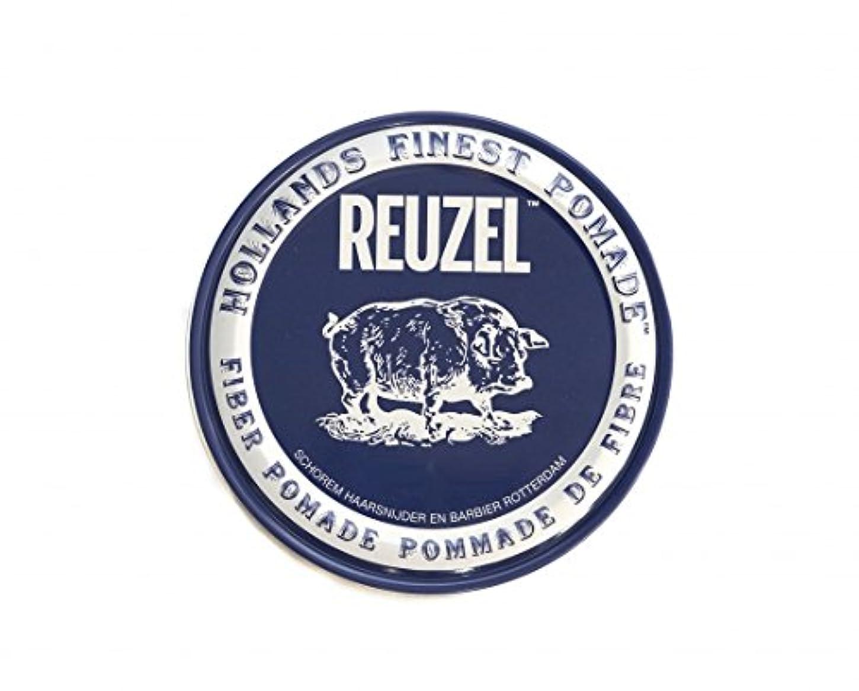 ルーゾー REUZEL FIBER ファイバー ポマード ネイビー 340g