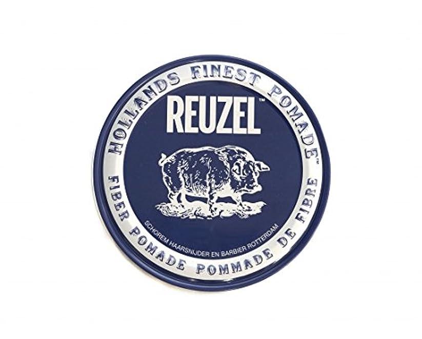 平衡矩形引くルーゾー REUZEL FIBER ファイバー ポマード ネイビー 340g