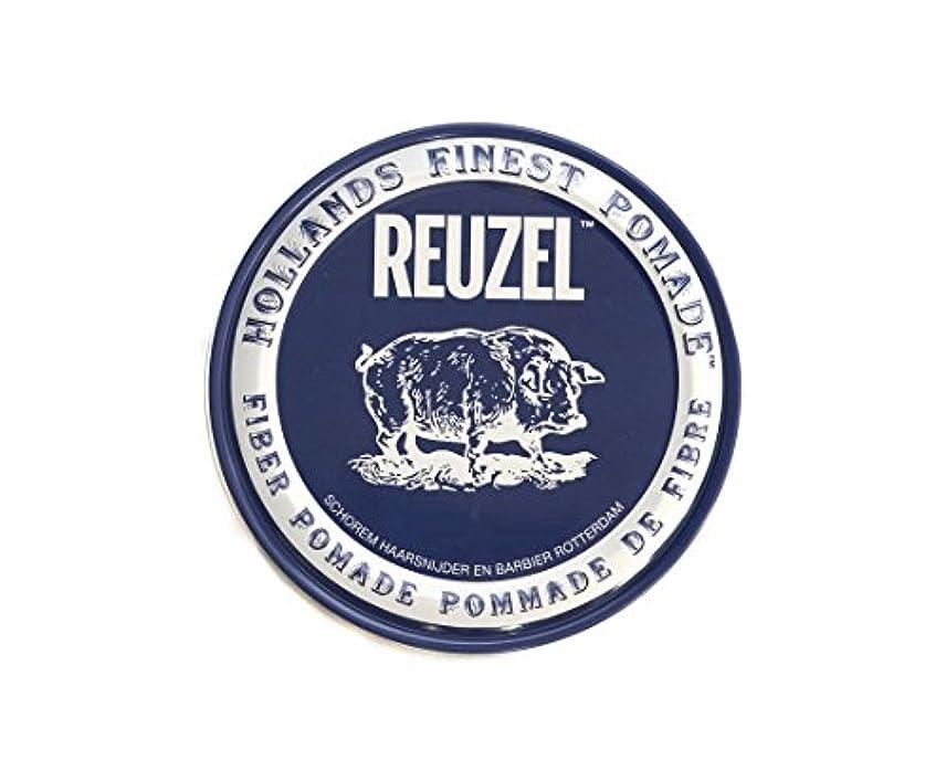 タール未知のカポックルーゾー REUZEL ファイバーポマード ネイビー 113g