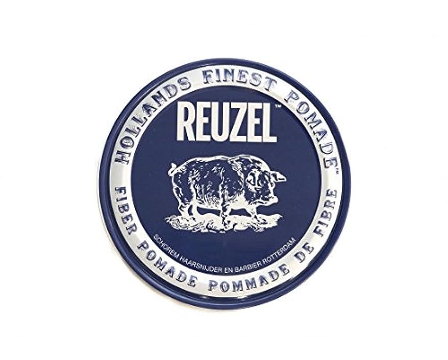 繊毛アンドリューハリディマオリルーゾー REUZEL ファイバーポマード ネイビー 113g