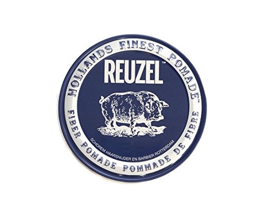 戦艦個人的に少数ルーゾー REUZEL FIBER ファイバー ポマード ネイビー 340g