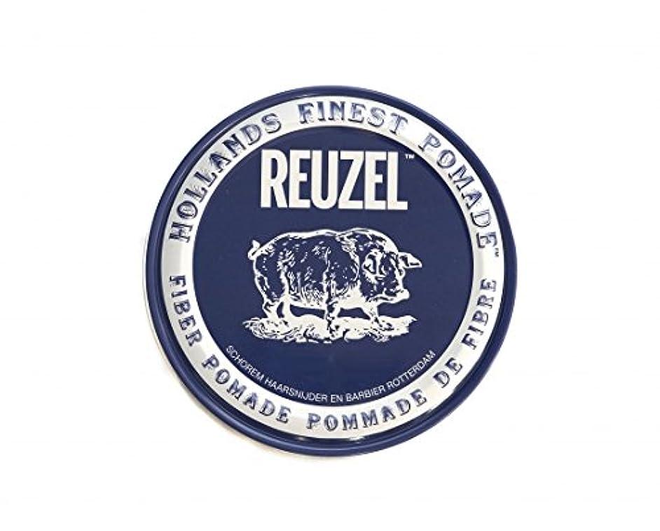 アヒル感性居眠りするルーゾー REUZEL ファイバーポマード ネイビー 113g