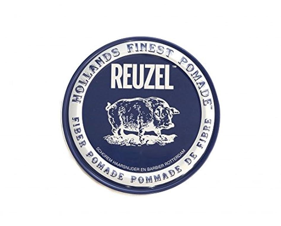 独立してリスク召集するルーゾー REUZEL ファイバーポマード ネイビー 113g