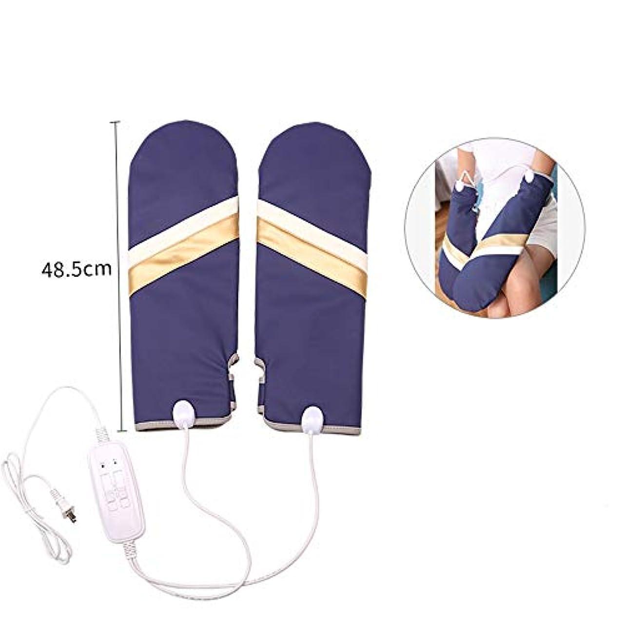レンダーパスタにやにやOUPAI ハンディマッサージャー 指の腕、暖房および3つのモードのための手のマッサージャー マッサージクッション (Size : B)