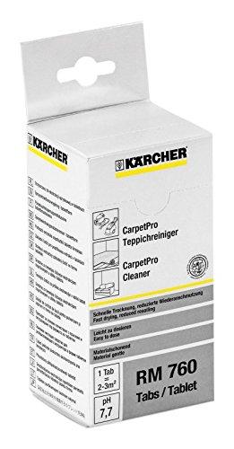 ケルヒャーカーペットリンスクリーナー用洗浄剤 CarpetPro Cleaner RM 760 tablets 6.295-850.0