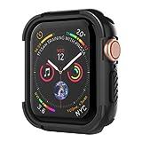 「UMTELE コンパチブル Apple Watch Series 4 ケース 44mm アップル ウォッチ シリーズ 4 ケース 保護ケース 全面保護カバー TPU + PC素材 着装まま充電可能 A...」のサムネイル画像