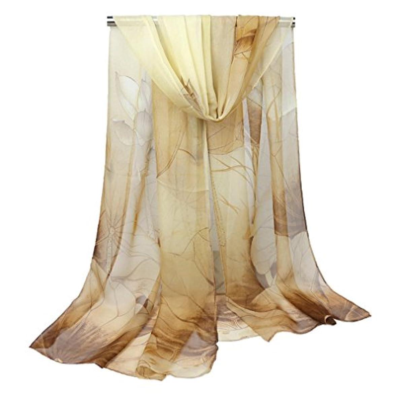 小さい周波数壁紙COMVIP プリント 花柄 レディース ファッション マフラー 薄地 スカーフ おしゃれ ストール 柔らかい カジュアル 通勤 日焼け防止