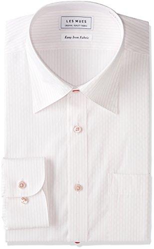 [アオキ] 【形態安定シャツ】レギュラーカラー スリム ワイシャツ 選べるカラーバリエーション/長袖 メンズ 【ホワイト】EBLM1253 日本 M (日本サイズM相当)