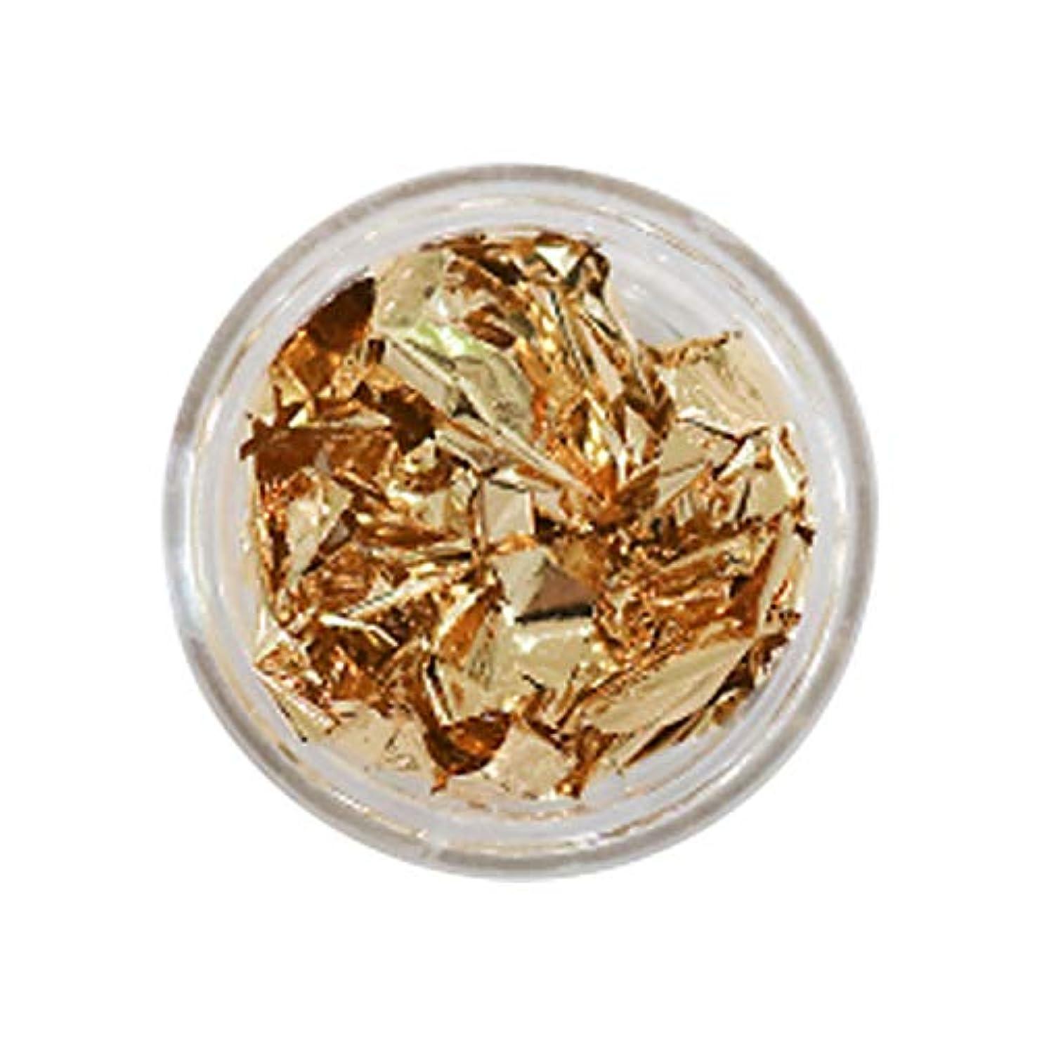 ヒゲステーキ増強Bonnail(ボンネイル) 箔セレクション サンセットゴールド