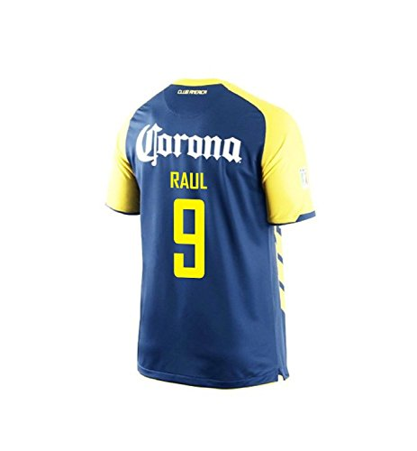 Nike Raul #9 Club America Away Men Jersey/サッカーユニフォーム クラブ・アメリカ アウェイ用 ラウール 背番号9 (XL)