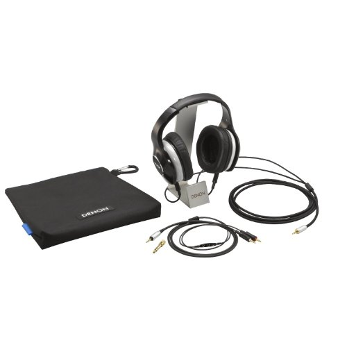 DENON AH-D600EM MUSIC MANIAC 密閉型オーバーヘッドヘッドホン リケーブル/ハイレゾ音源対応 ブラック