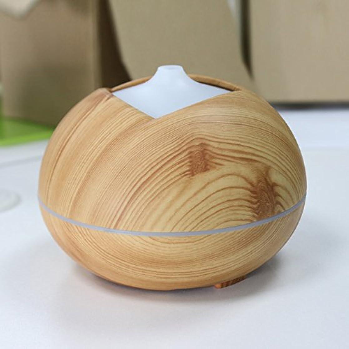 偉業惨めなモーションYiding加湿器木製カラーCool Mist超音波アロマEssential Oil Diffuser for Officeホームベッドルーム