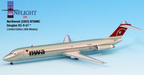 1: 200 インフライト Northwest 航空 DC-9-51 New Colors (並行輸入)