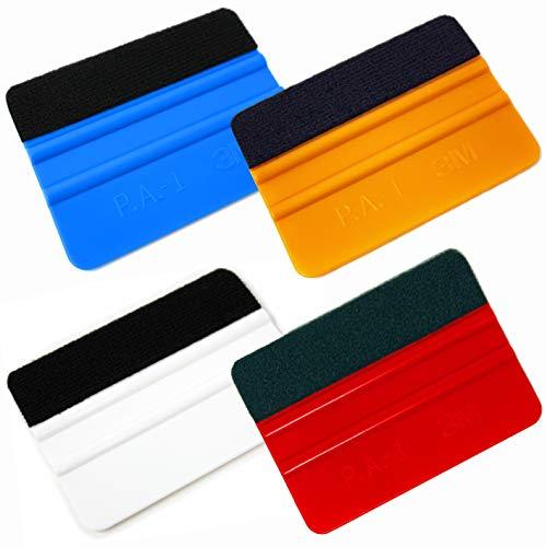 3M 高品質 スキージ P.A.-1 フェルト貼り付け済み品 (マルチカラー)