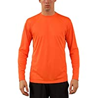 Vapor Apparel Men's UPF 50+ UV Sun Protection Outdoor Quick Dry Long Sleeve T-Shirt