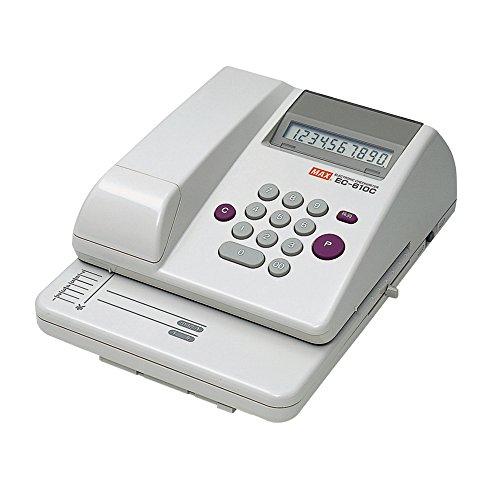 [해외]맥스 전자 체크 라이터 10 자리 충전식 EC-610C/Max electronic checkwriter 10 digit rechargeable type EC-610C