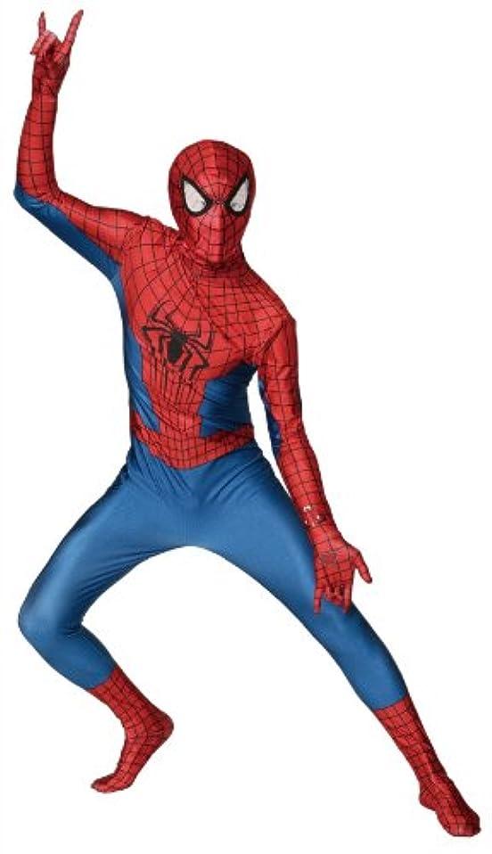 ラッドヤードキップリング習慣小道マーベル アメージング スパイダーマン 2 コスチューム メンズ 160cm-180cm